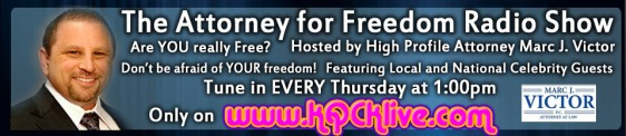 AD Attorney for Freedom Radio Show