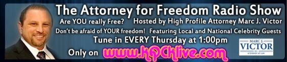 AD Attorney for Freedom Radio Show